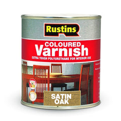Polyurethane Satin Varnish Oak 250ml