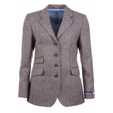 Long Tweed Blazer Poppy