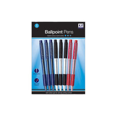 Ballpoint Pens with Rubber Grip