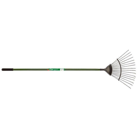 Carbon Steel Lawn Rake 16 prong