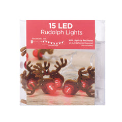 LED Rudolph Lights