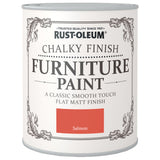 Chalky Finish Furniture Paint 750ml Salmon