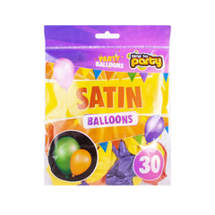 Satin Party Balloons