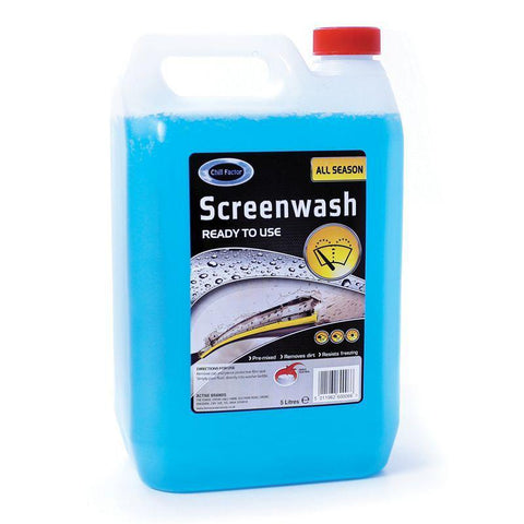 Chill Factor 5 Litre Concentrated Screenwash