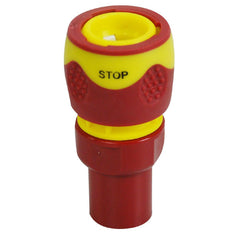 Female Water Stop Connector Soft Grip