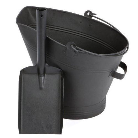 Coal Bucket & Shovel
