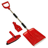 3 In 1 Snow Shovel, Ice Scraper And Brush
