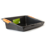 verve potting bench black orange