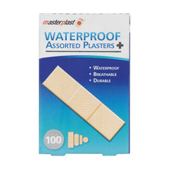 Waterproof Plasters 100pk