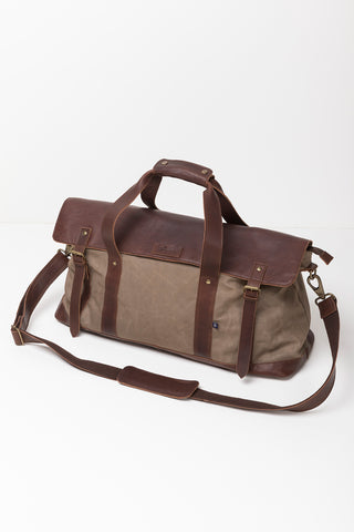 William Canvas Weekend Bag