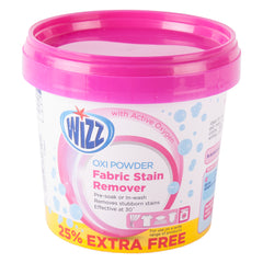 Wizz Oxi Fabric Stain Remover Powder 625g