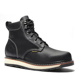 "JOURNEY II-Black 6"" Round Toe 6-Inch Dual Density Work Boot(Soft Toe)"
