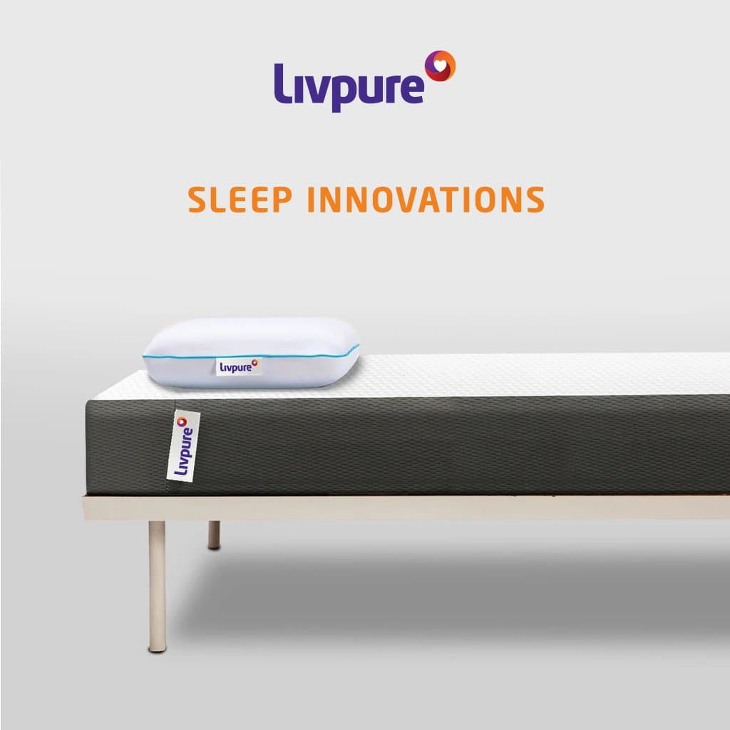 Ortho Memory Foam Mattress by Livpure