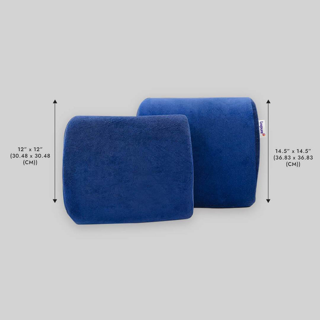 Dimensions of Back Support Pillow