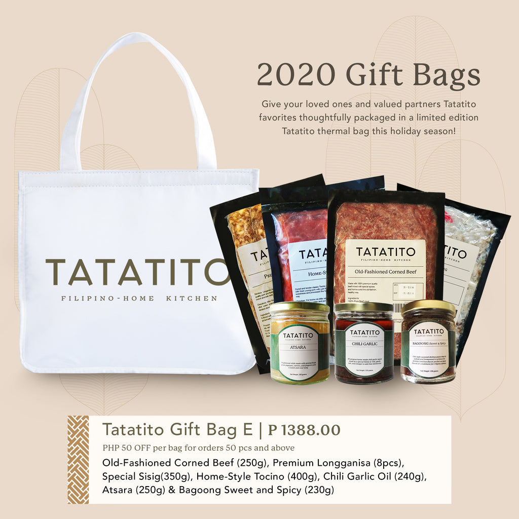 Tatatito Gift Bag Set E