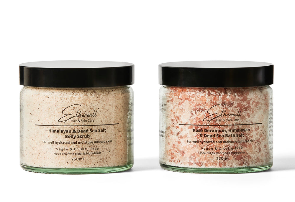 Bath Salt and Body Scrub Duo
