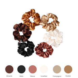 Load image into Gallery viewer, Satin Scrunchie