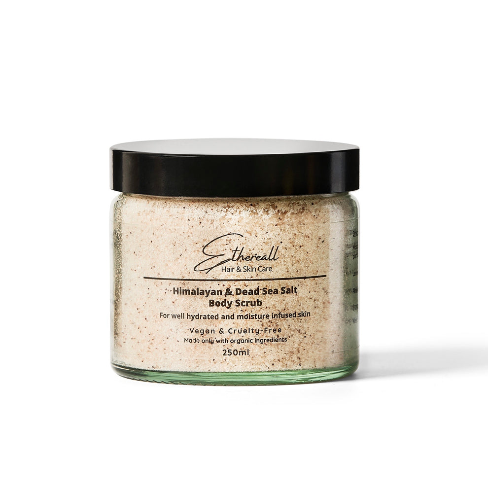 Himalayan & Dead Sea Salt Body Scrub