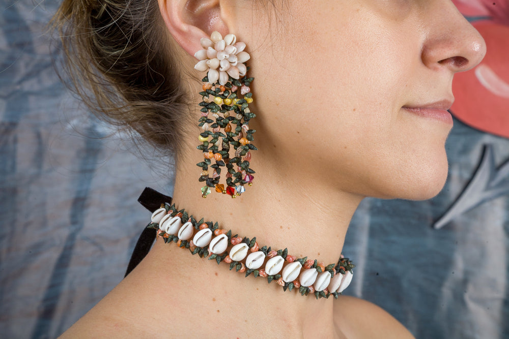 Moraimas earrings in multicolor