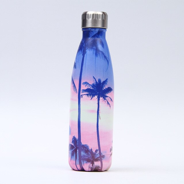 203-222 Stainless Steel Bottle For Water Thermos Vacuum Insulated Cup Double-Wall Travel Drinkware Sports Flask