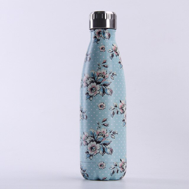 Stainless Steel water Bottle For Water Thermos Vacuum Insulated Cup Double-Wall Travel Drinkware Sports Flask