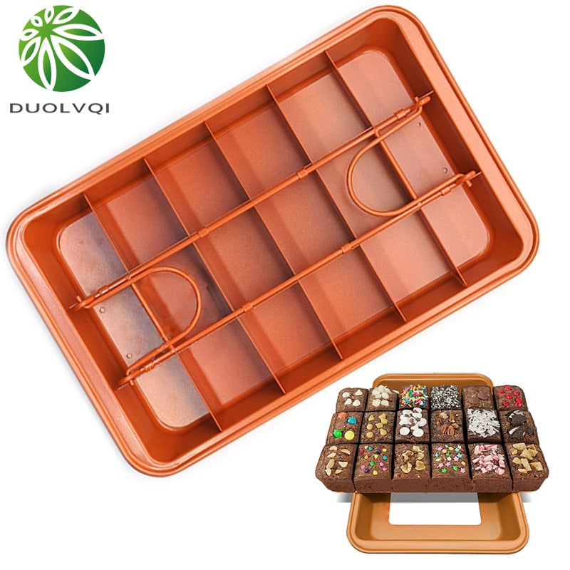 Duolvqi Non-Stick Cake Pan Square Shape Live Bottom Bread Cake Mold Baking Tools Kitchen Professional Bakeware