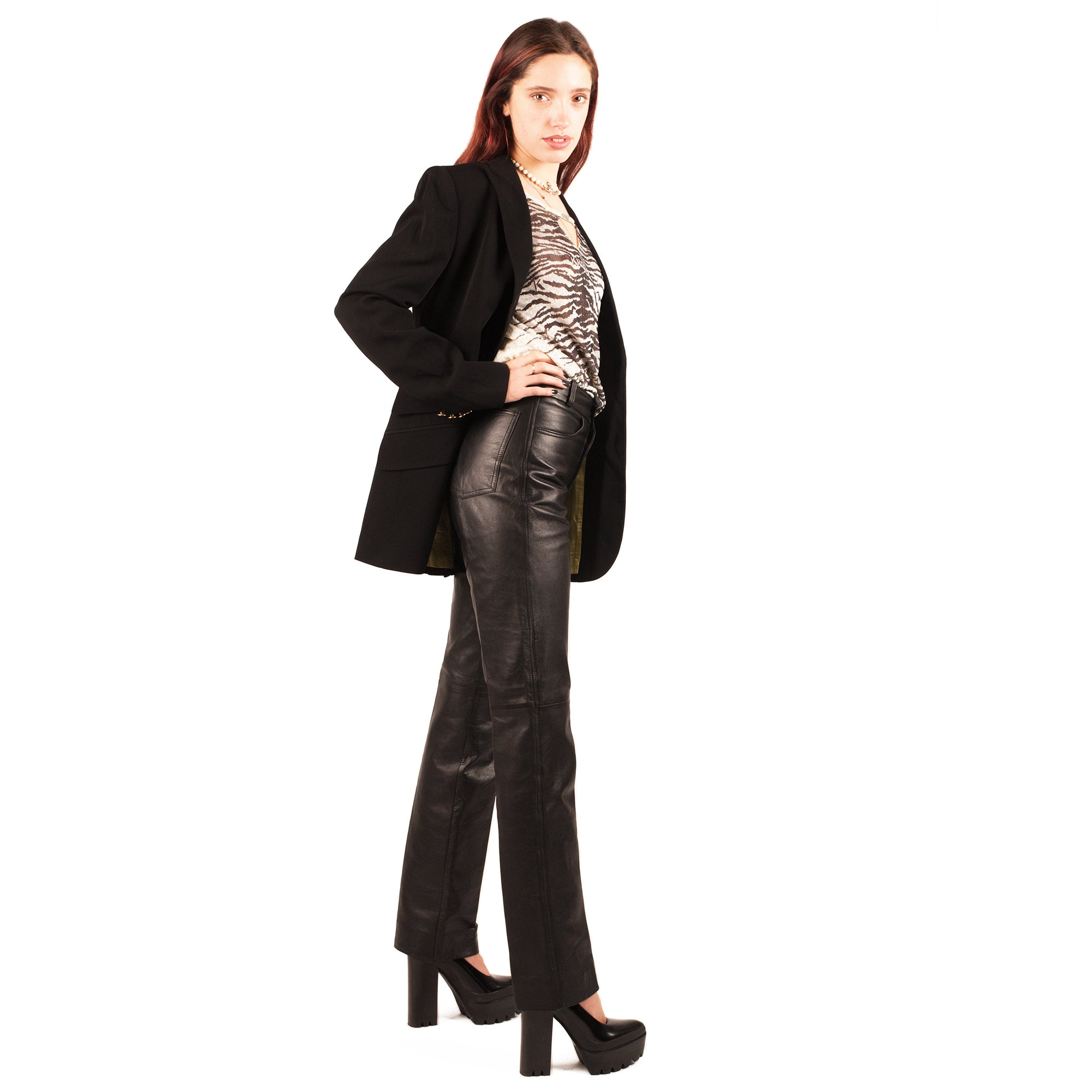 Dolce and Gabbana Blazer (Black) UK 6-8