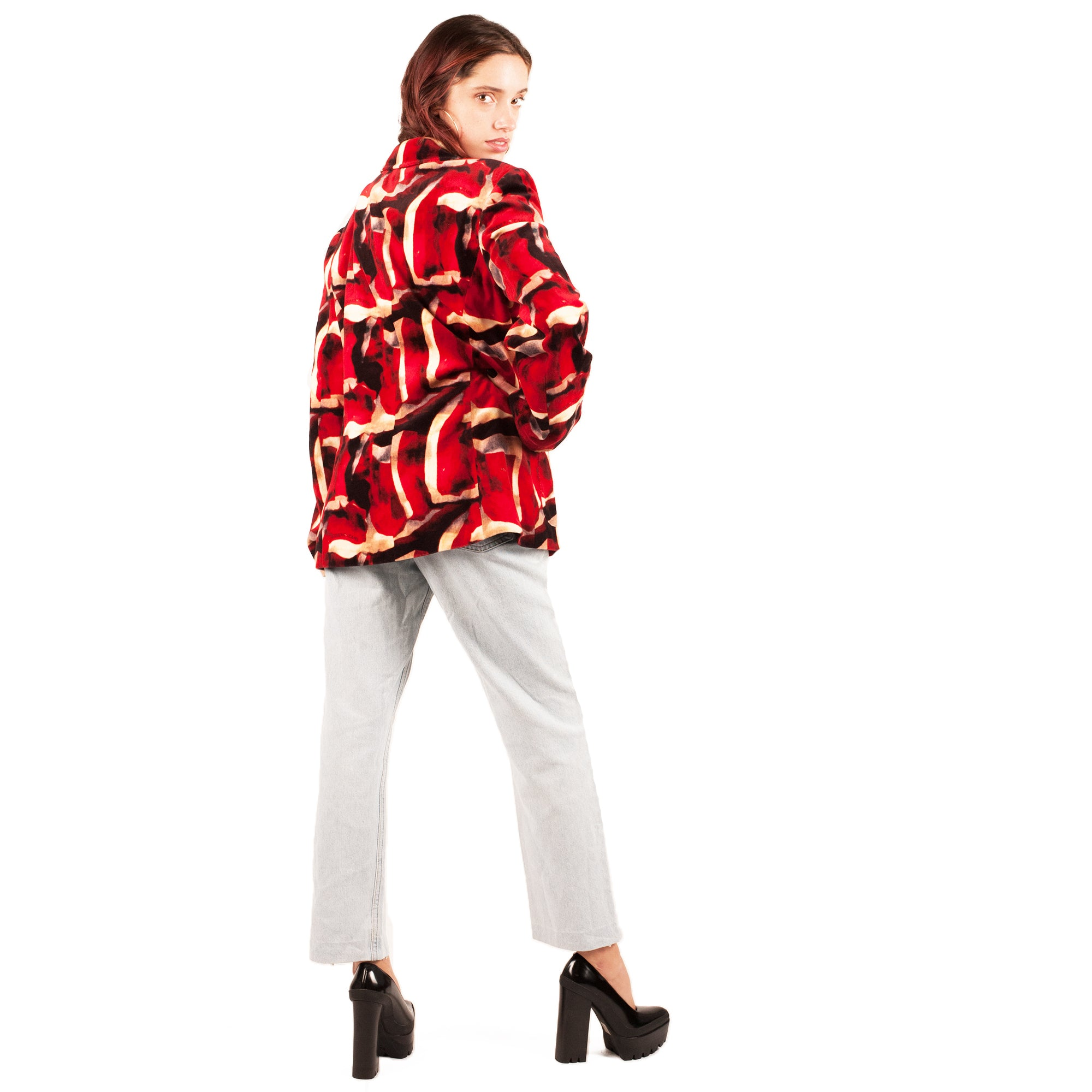 Iceberg Velvet Blazer (Multi) UK 8-10