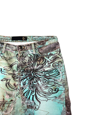 Roberto Cavalli Skirt (Multi) UK 12