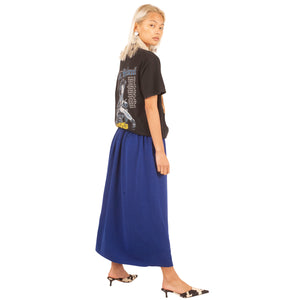 Valentino Wool Skirt (Blue) UK 6-10