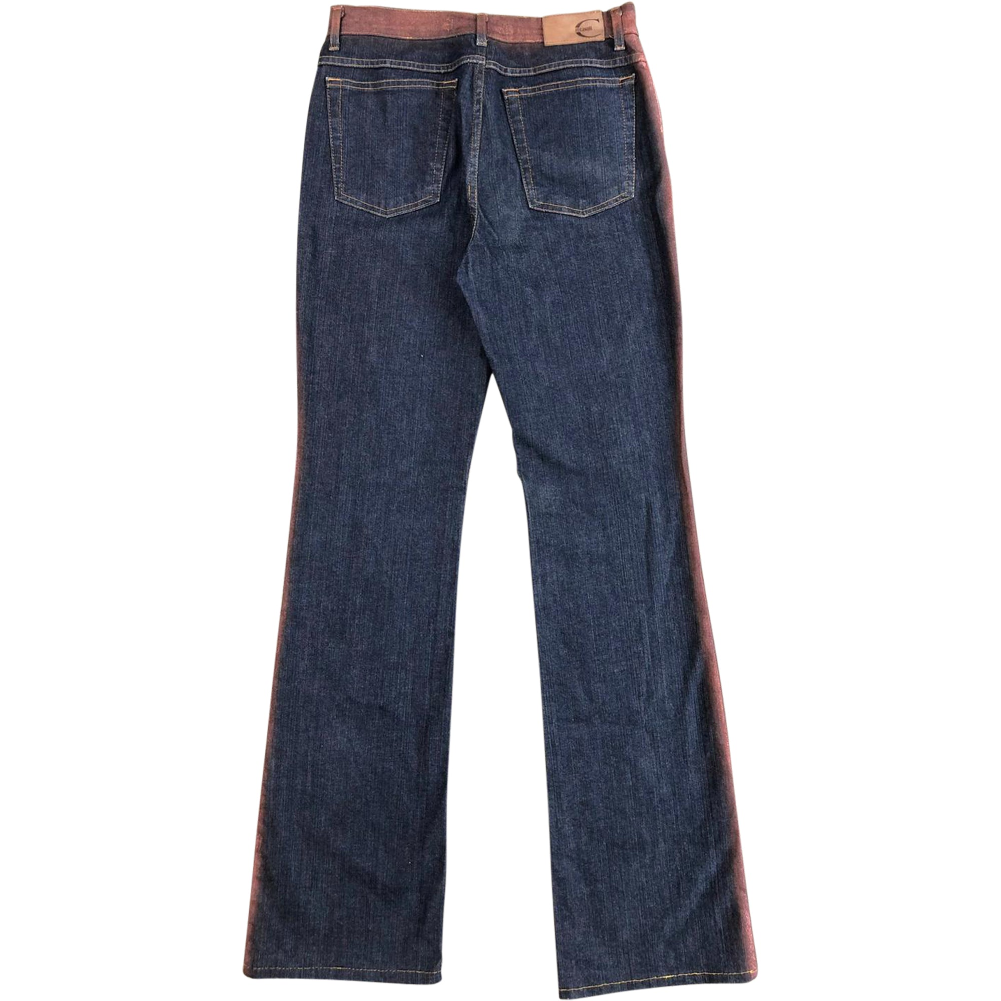 Roberto Cavalli Copper Trim Jeans (Indigo) UK 10