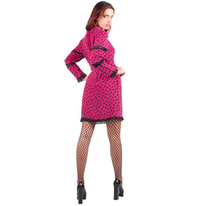 Rocco Barocco Dress (Pink) UK 6-10