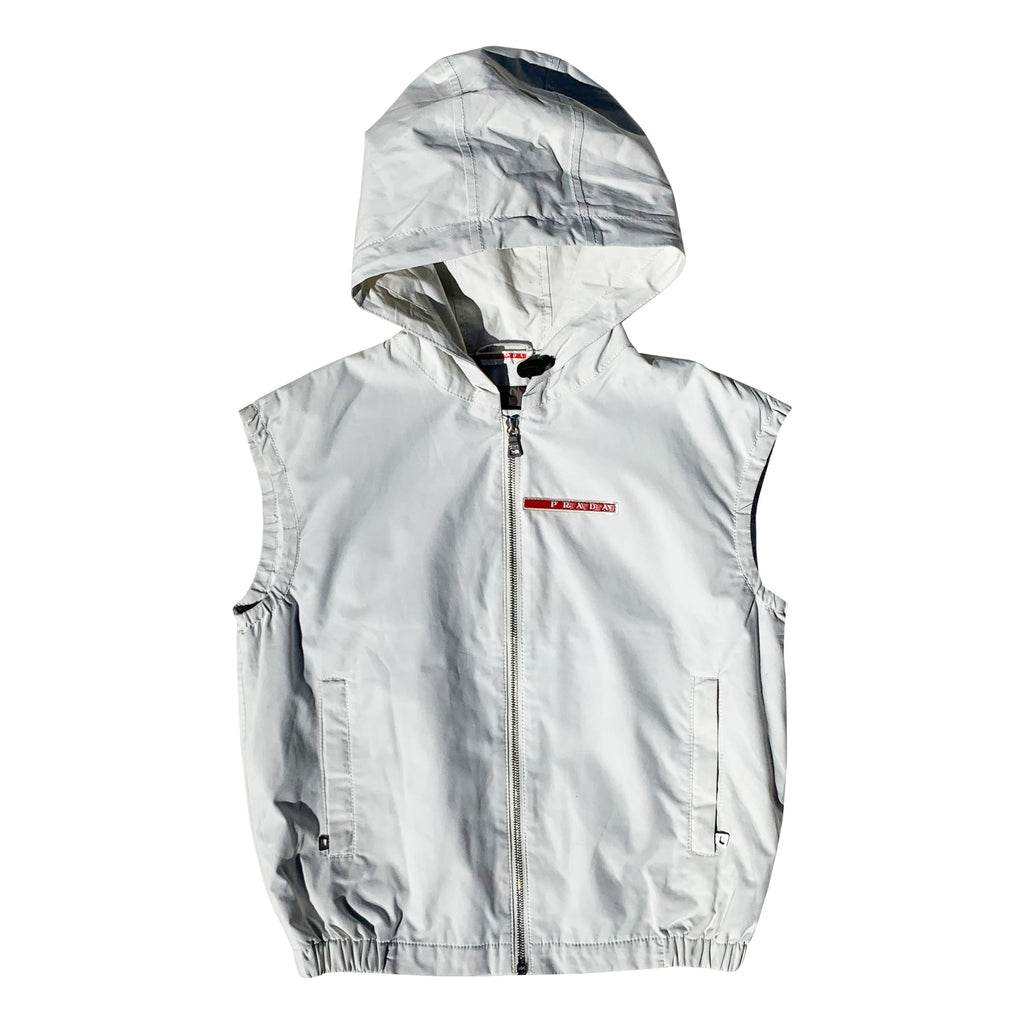 Prada Gilet (White) UK 6-10