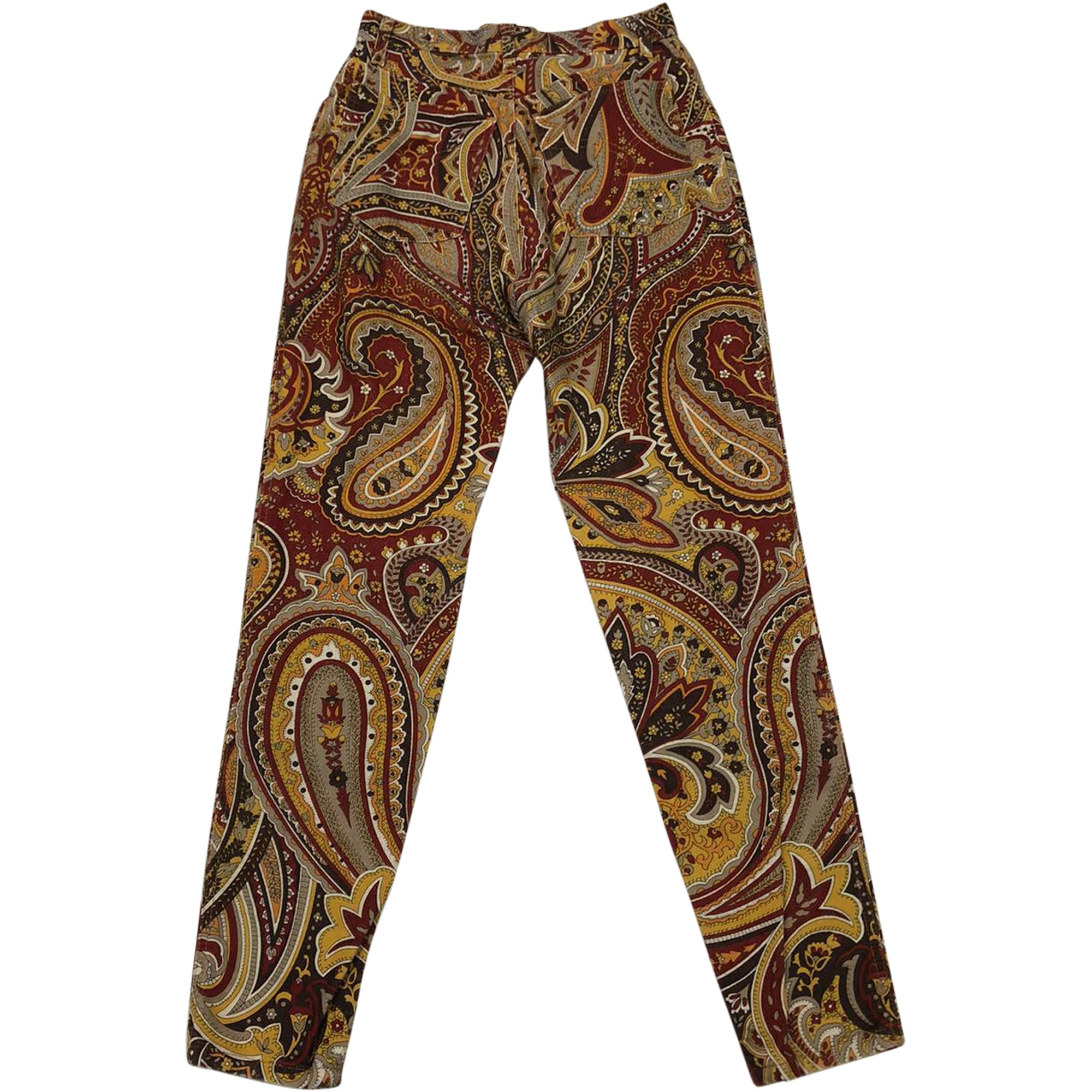 Moschino Paisley Jeans (Multi) UK 6