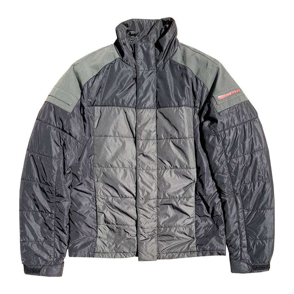 Prada Puffa Jacket (Grey) UK 8-12