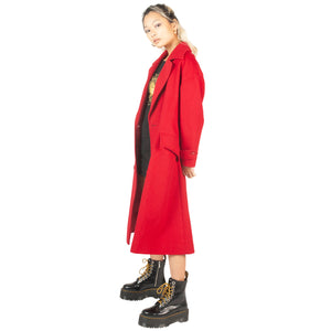 Christian Dior Cashmere Coat (Red) UK 8-12