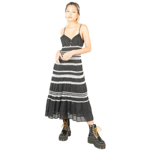 Max Mara Dress (Black/White) UK 6-10