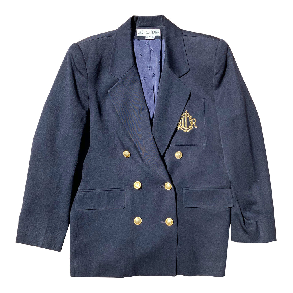 Dior Blazer (Navy) UK 8-12