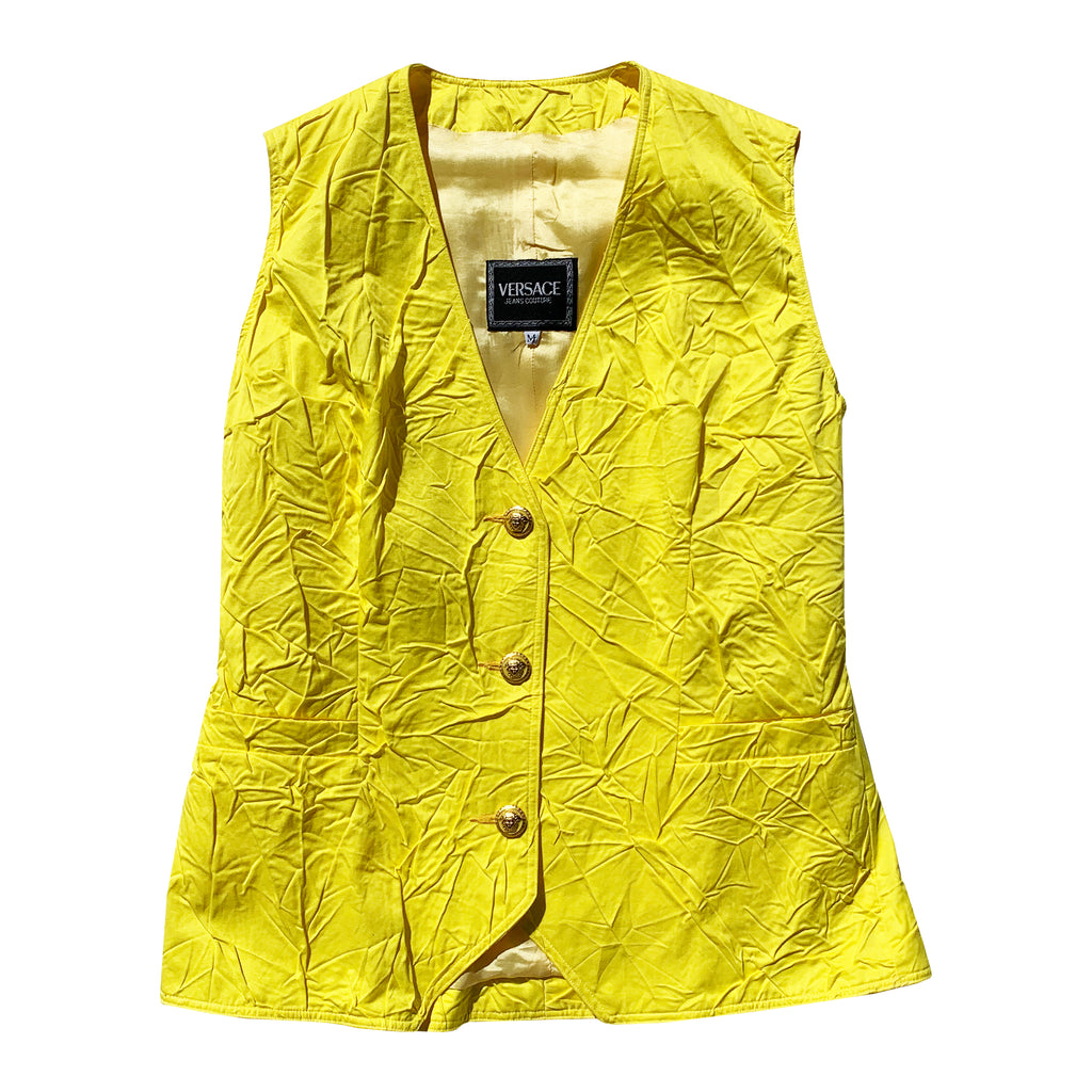 Versace Vest (Yellow) UK 6-10
