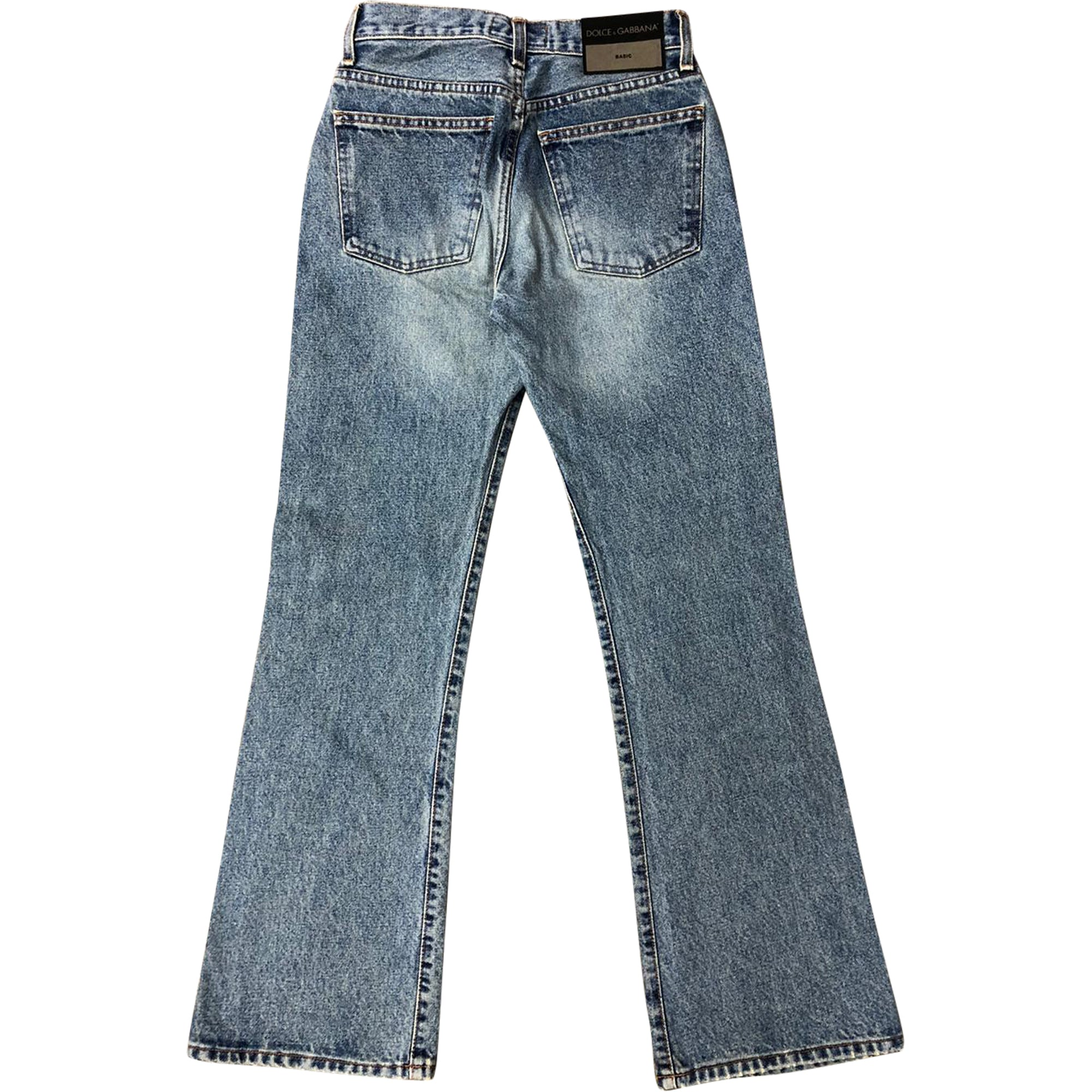 Dolce and Gabbana Bell Bottom Jeans (Rinse Wash) UK 4-6