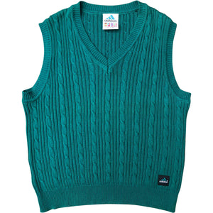 Adidas Equipment EQT Knitted Vest (Green) UK 12