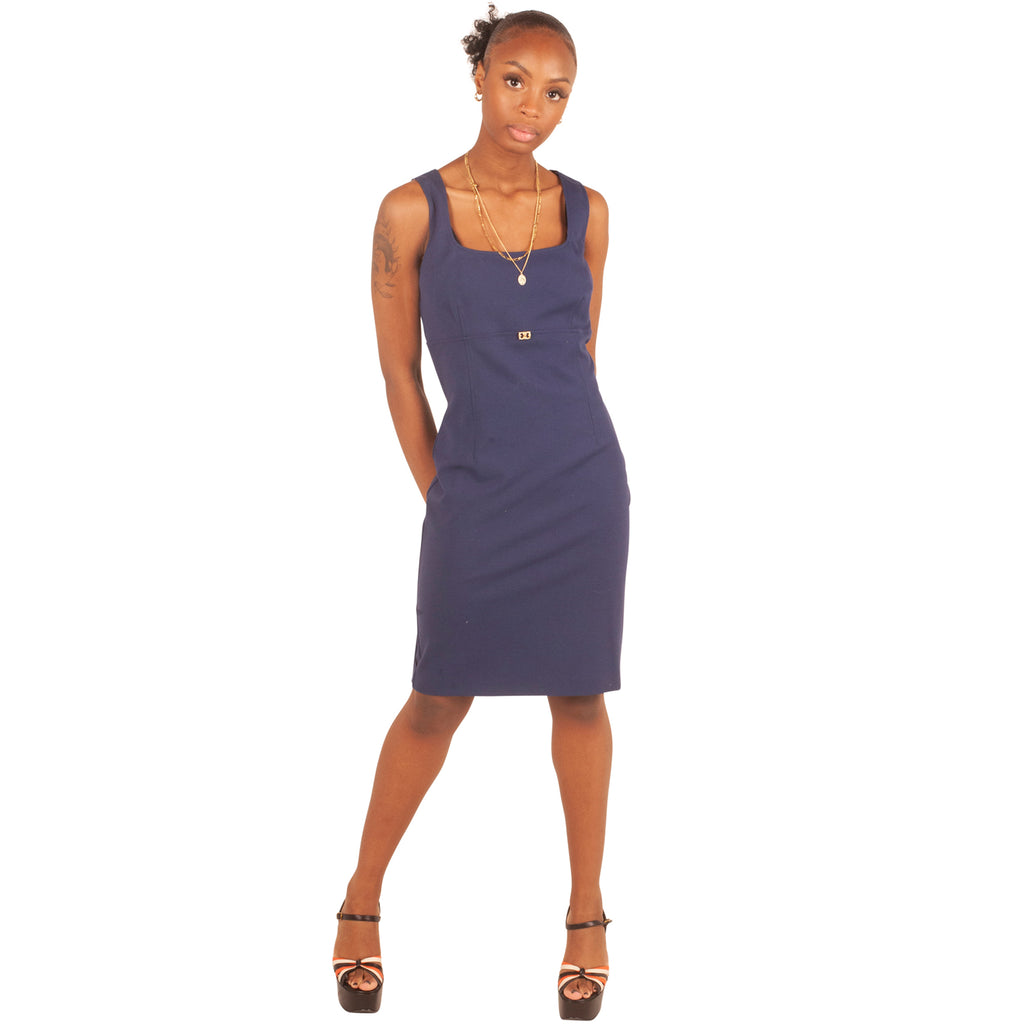 Roberto Cavalli Dress (Blue) UK 8