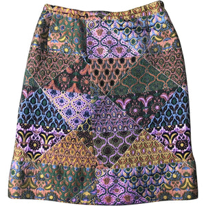 Miu Miu Skirt (Multi) UK 10