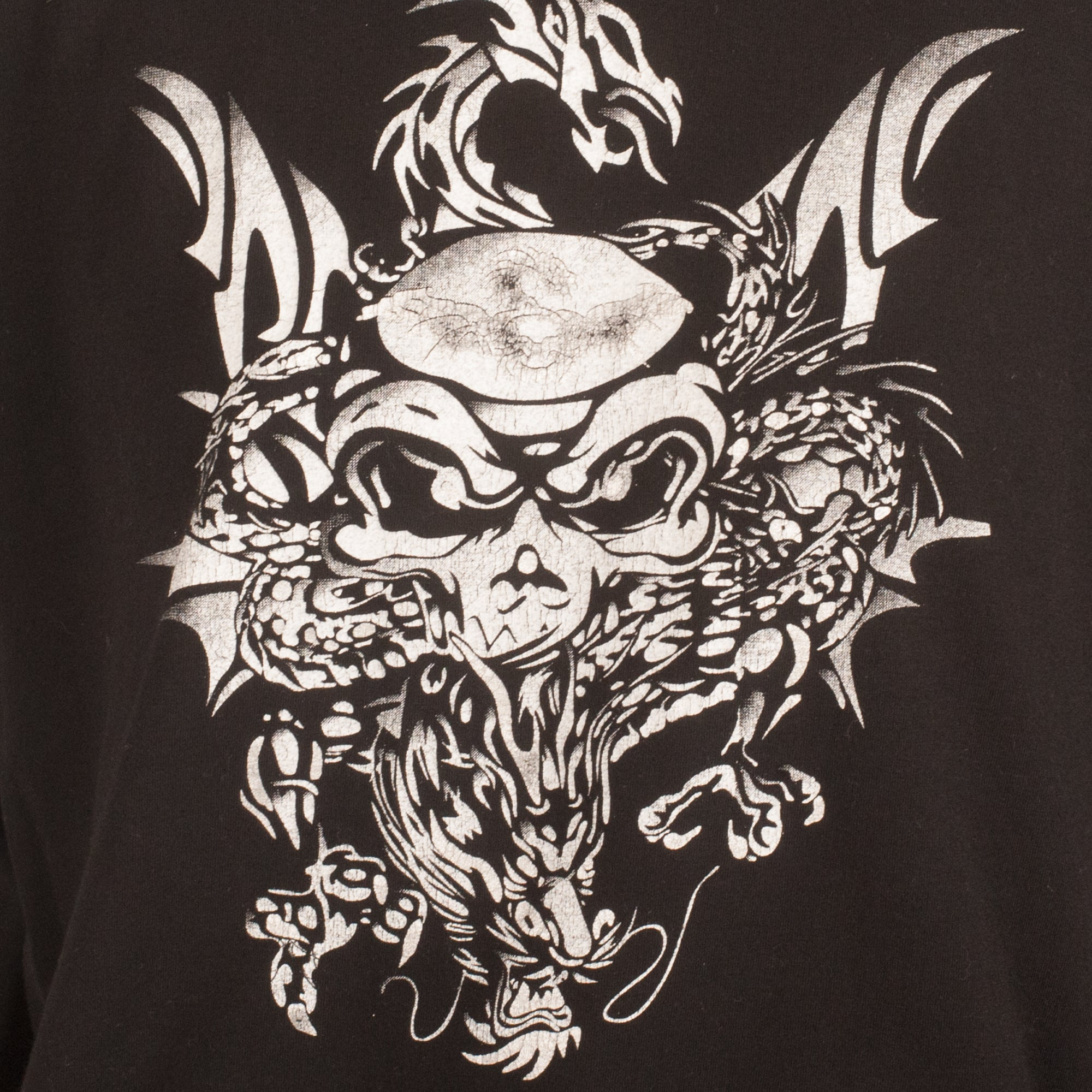 Richmond Skull and Dragon T-Shirt (Black) UK 8-12