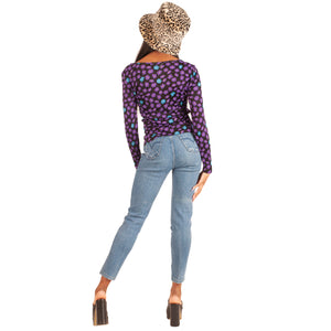 Versace Jeans Flower Top (Multi) UK 6-10