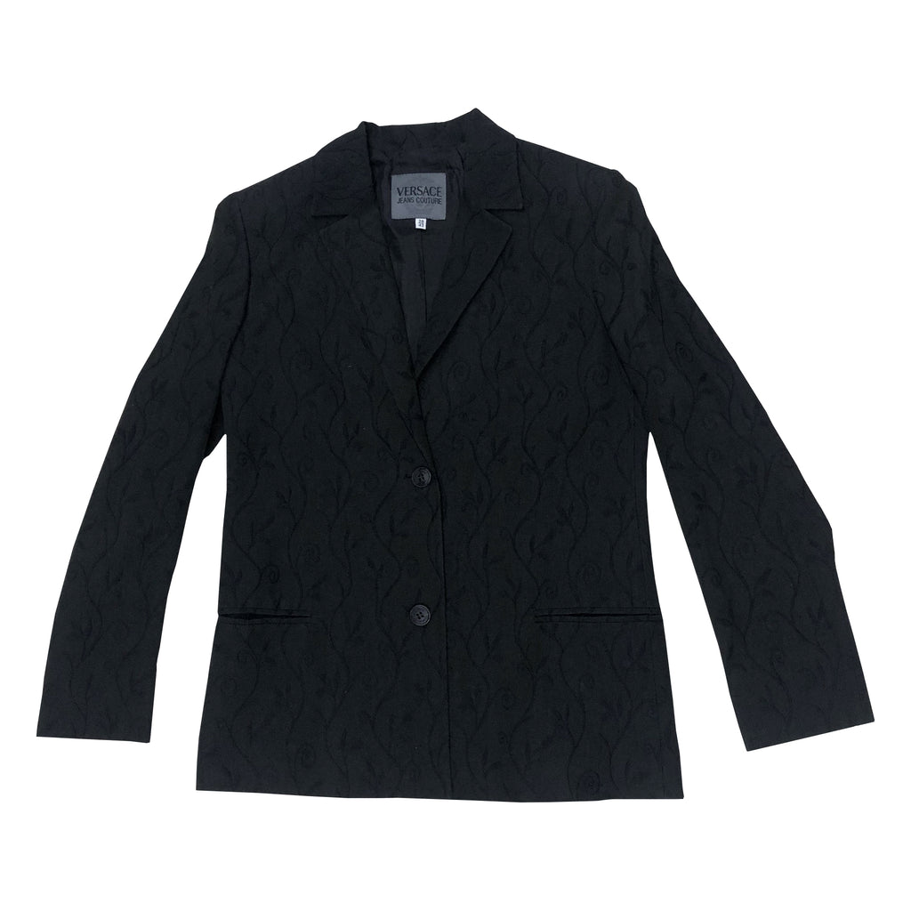 Versace Blazer (Black) UK 10