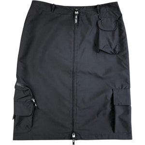 Moschino Life Zip Skirt (Black) UK 10