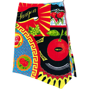 JC De Castelbajac Sangria Skirt (Multi) UK 12