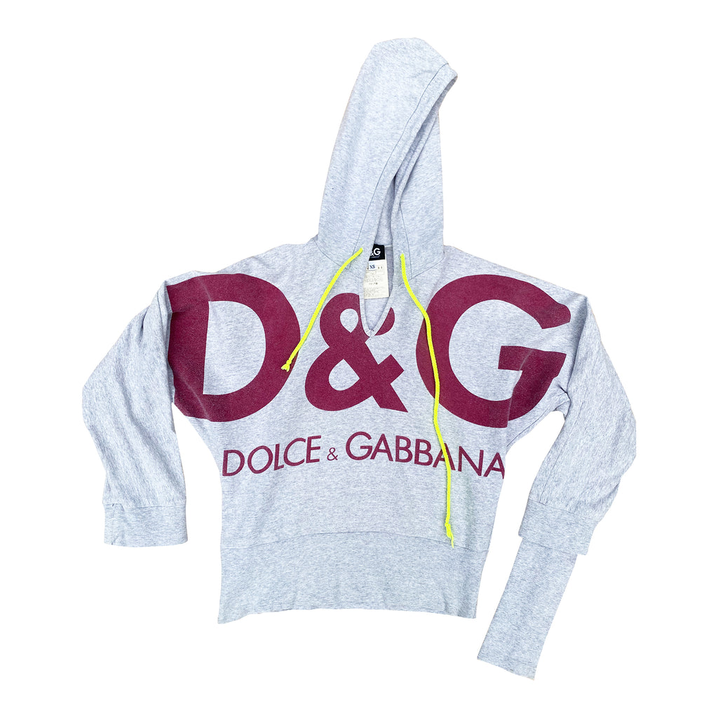 D&G Hodded Tracktop (Grey) UK 8