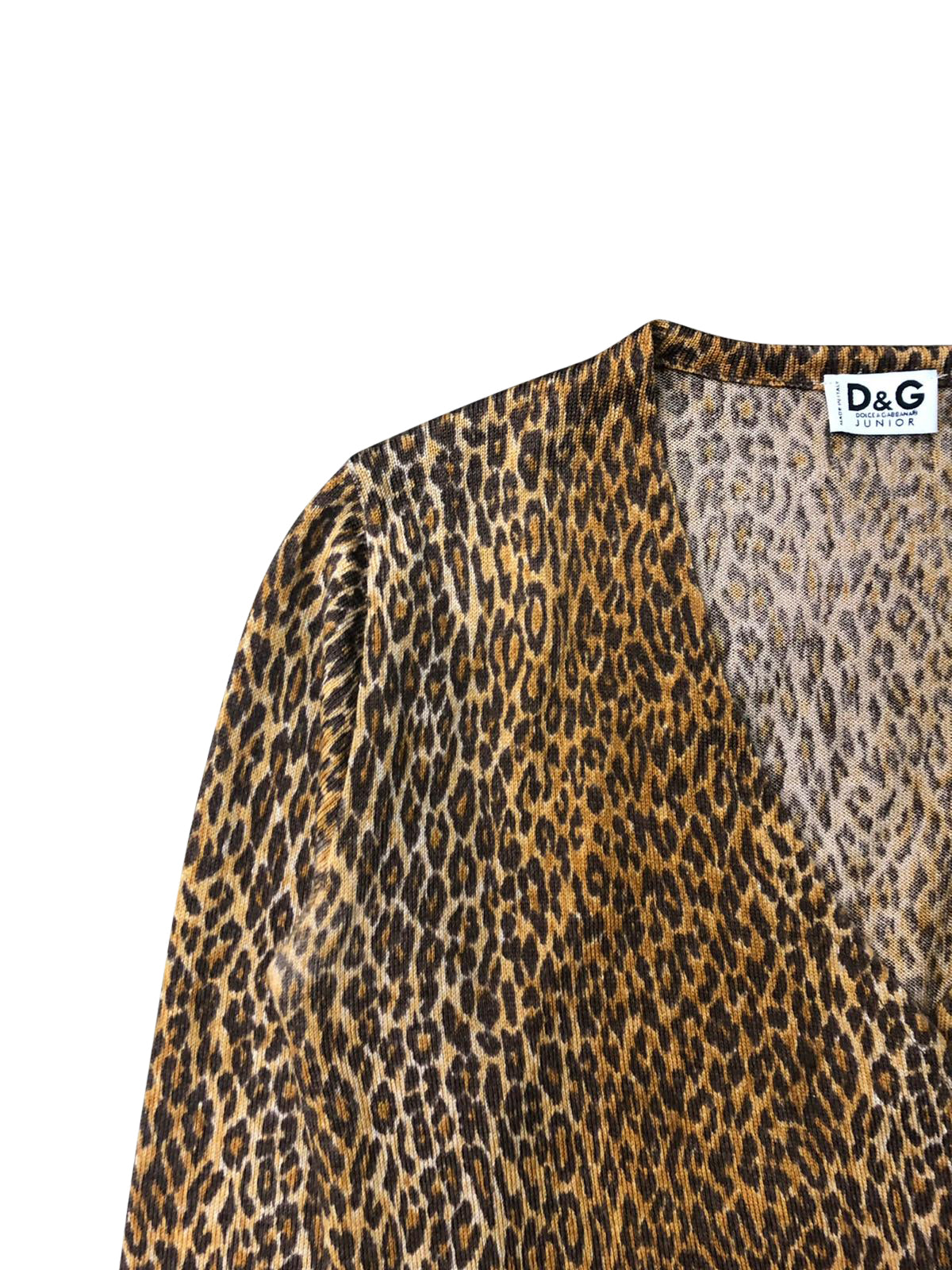 Dolce and Gabbana Wrap Around Top (Multi) UK 8-12